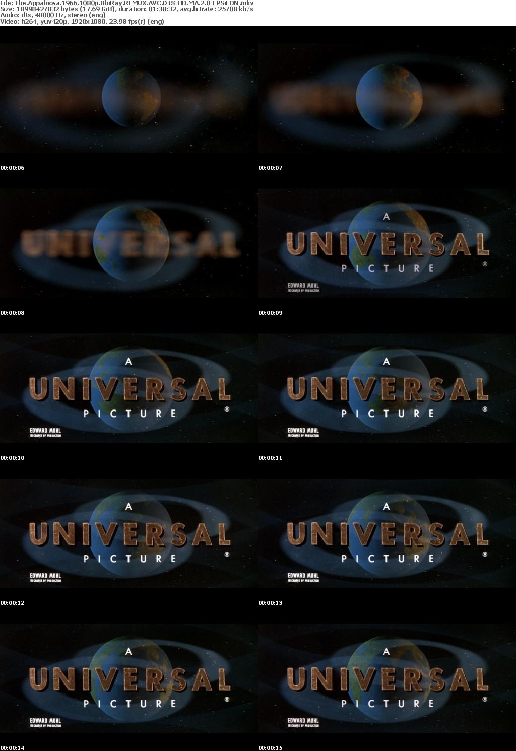 The Appaloosa 1966 1080p BluRay REMUX AVC DTS-HD MA 2 0-EPS