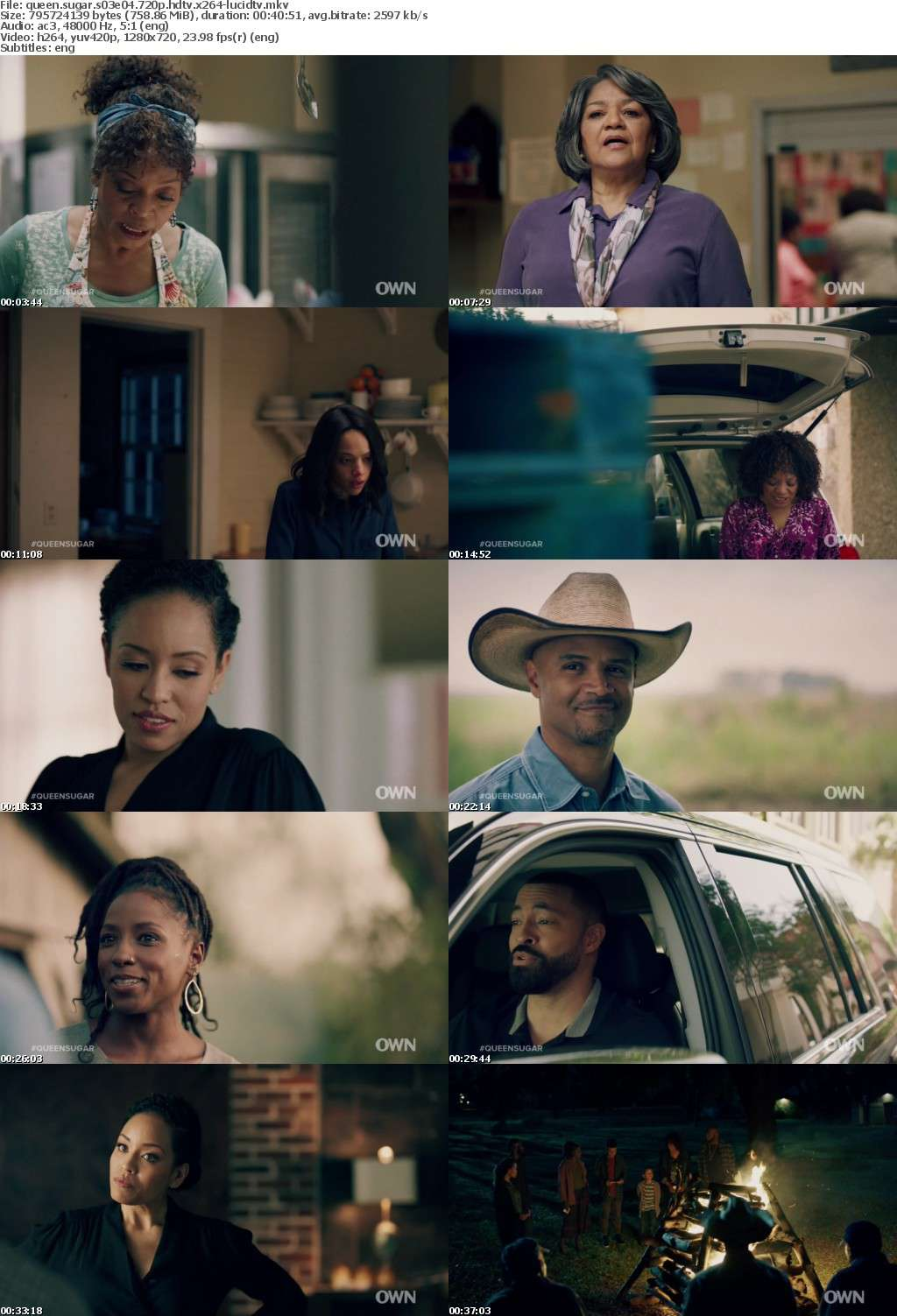 Queen Sugar S03E04 720p HDTV x264-LucidTV