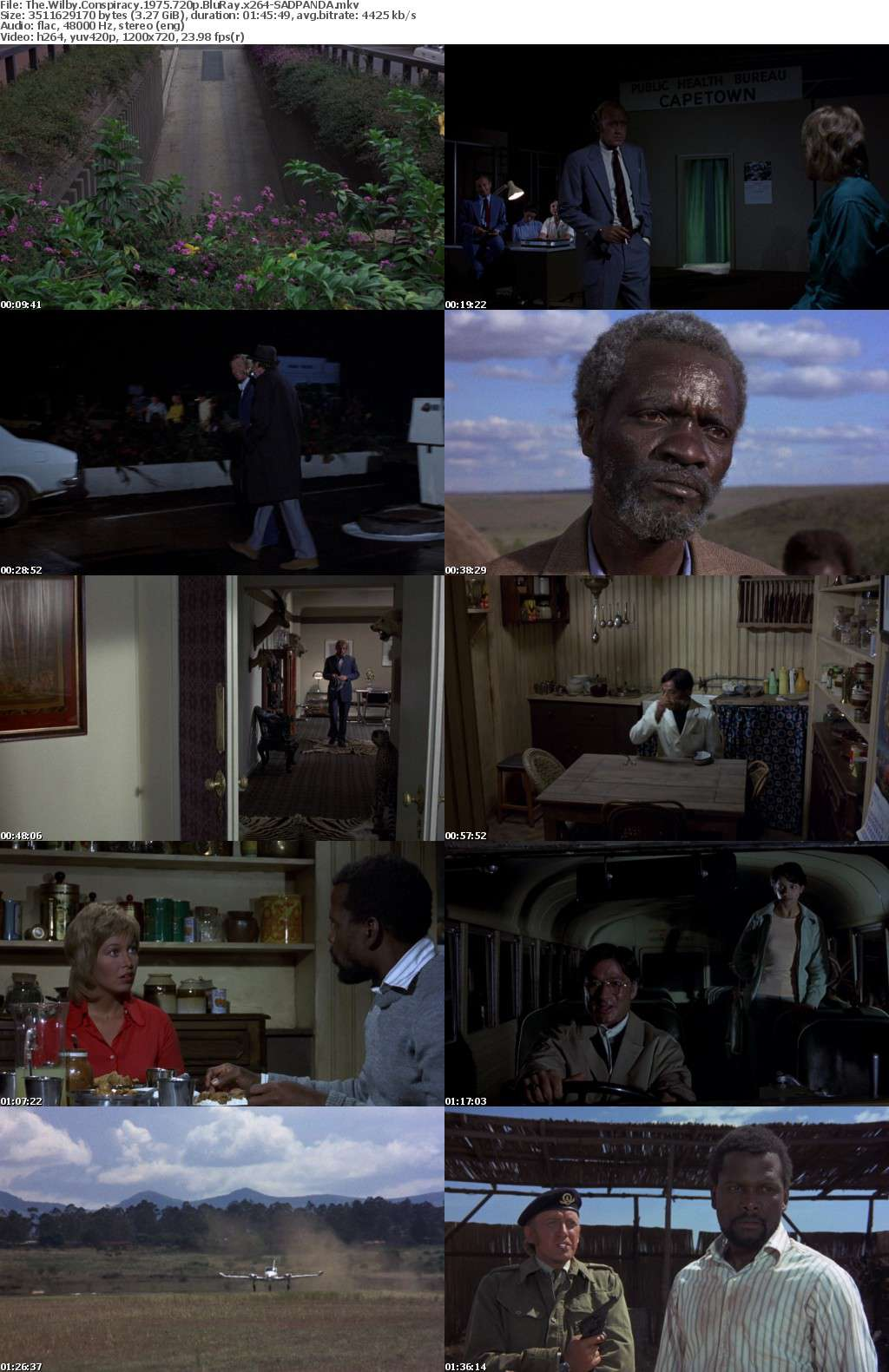 The Wilby Conspiracy 1975 720p BluRay x264-SADPANDA