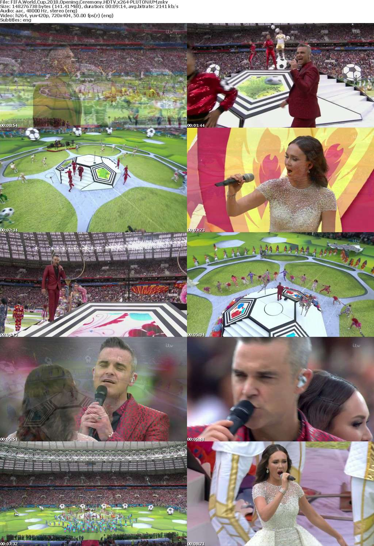 FIFA World Cup 2018 Opening Ceremony HDTV x264-PLUTONiUM