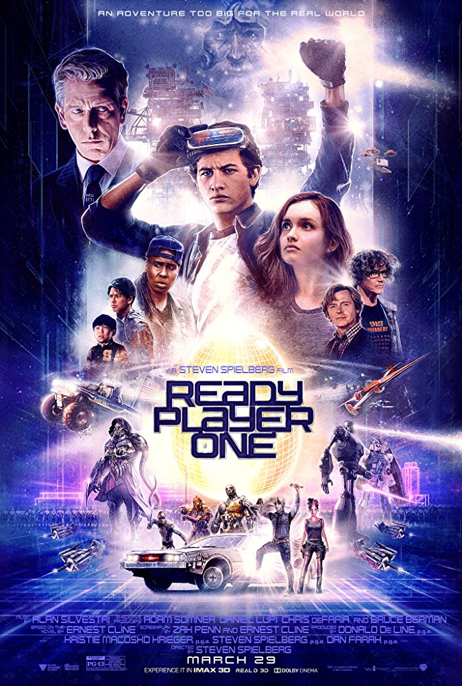 Ready Player One 2018 1080p WEB-DL X264 AC3-EVO