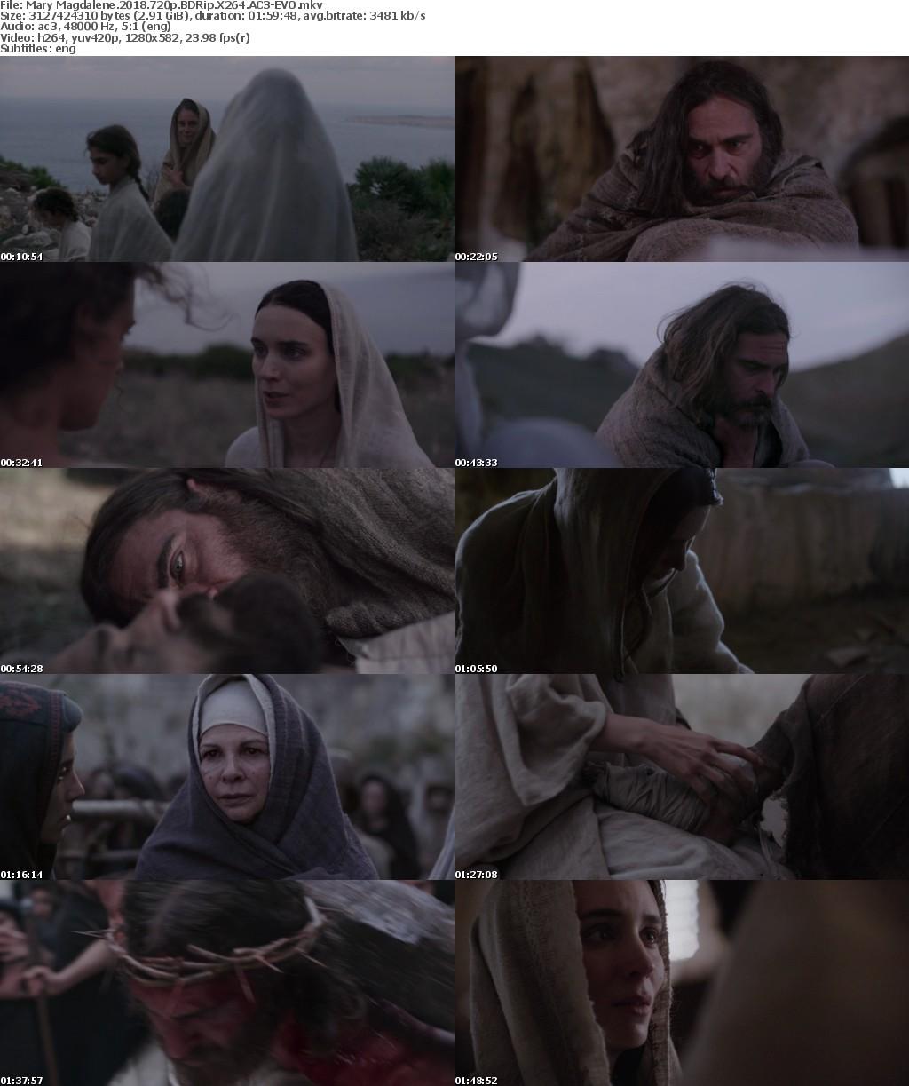 Mary Magdalene (2018) 720p BDRip X264 AC3-EVO