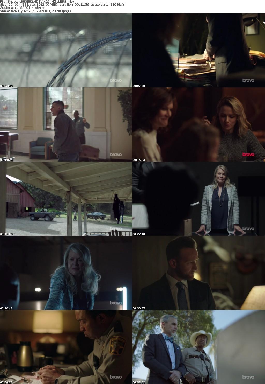 Shooter S03E02 HDTV x264-KILLERS