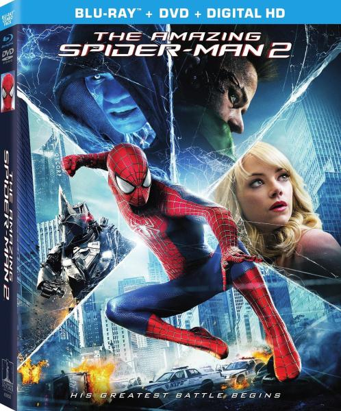 The Amazing Spider-Man 2 (2014) 1080p BluRay Dual Audio [Hindi DD 5.1+Eng] ESub-MW
