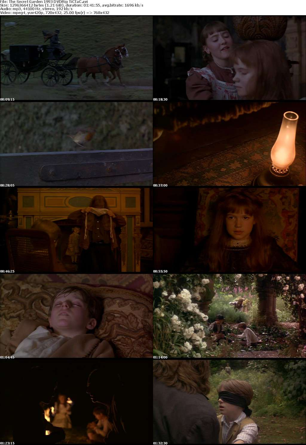 The Secret Garden 1993 DVDRip - TiCTaC