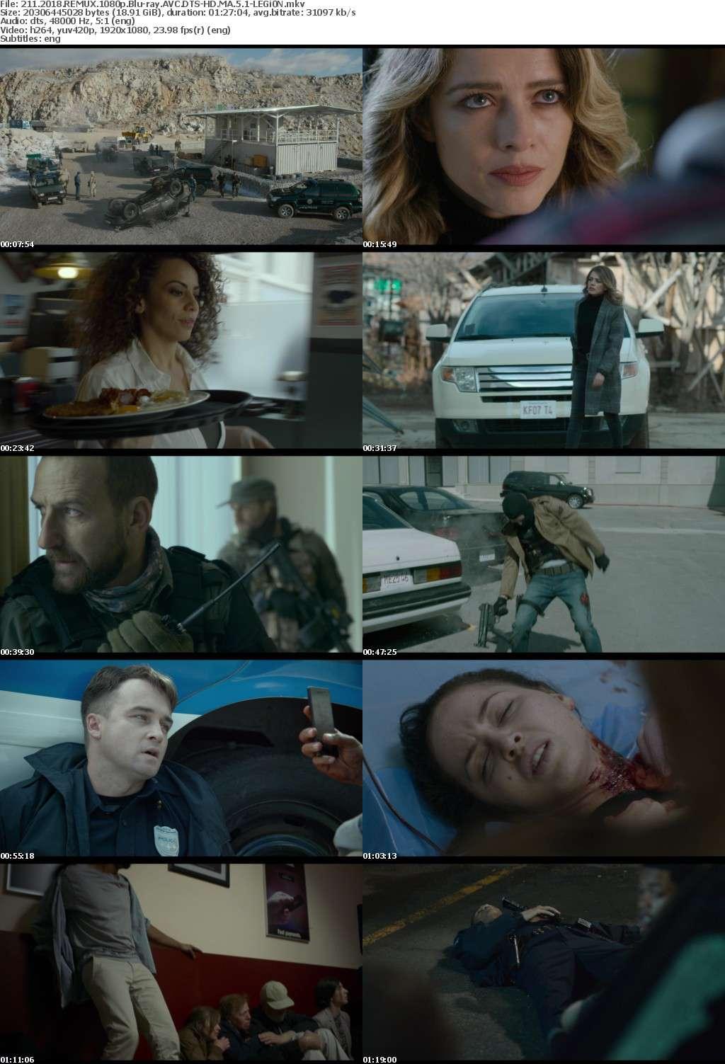 211 2018 REMUX 1080p Blu-ray AVC DTS-HD MA 5 1-LEGi0N