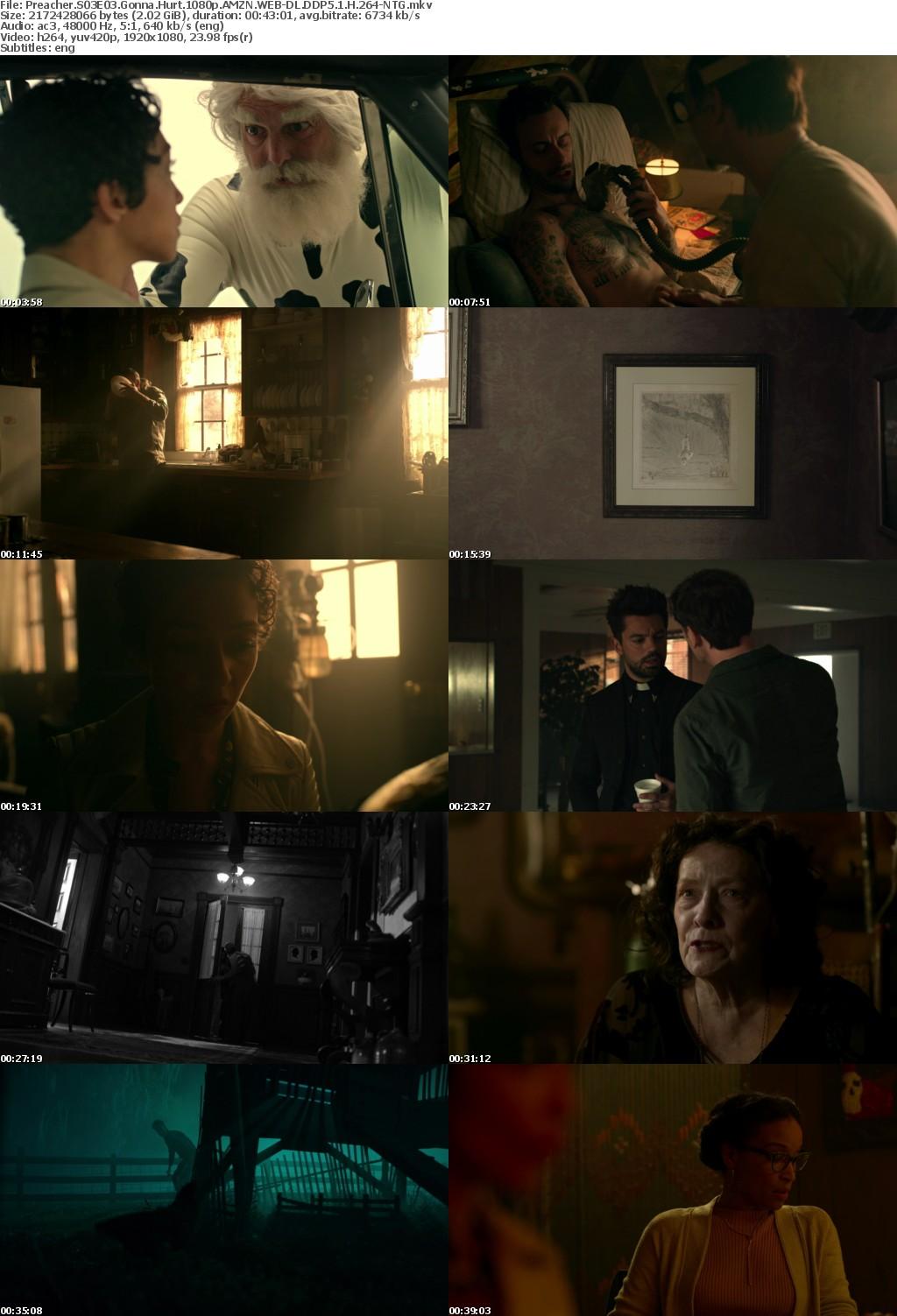 www scenetime - Preacher S03E03 Gonna Hurt 1080p AMZN WEB-DL DDP5 1 H 264-NTG