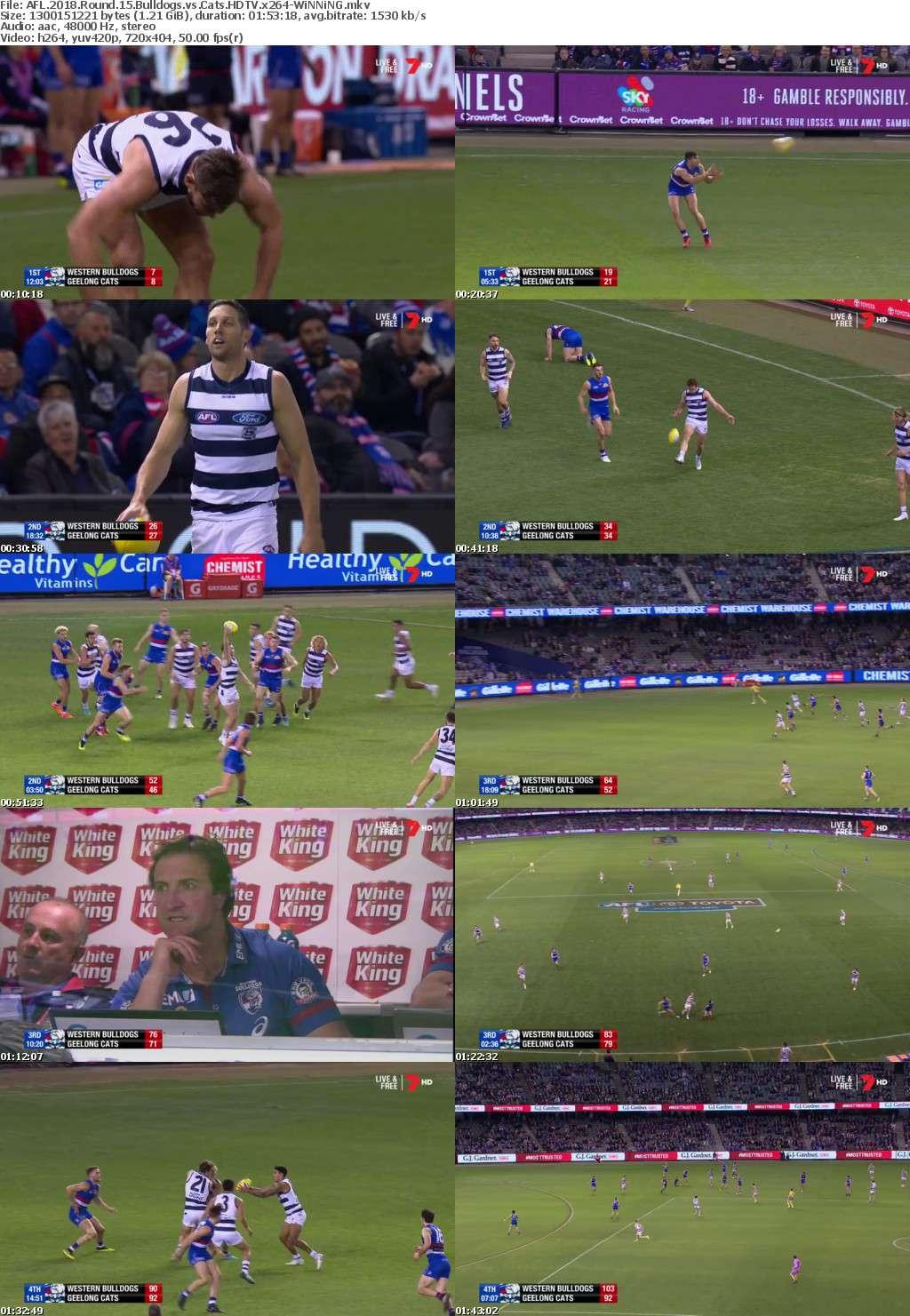 AFL 2018 Round 15 Bulldogs vs Cats HDTV x264-WiNNiNG