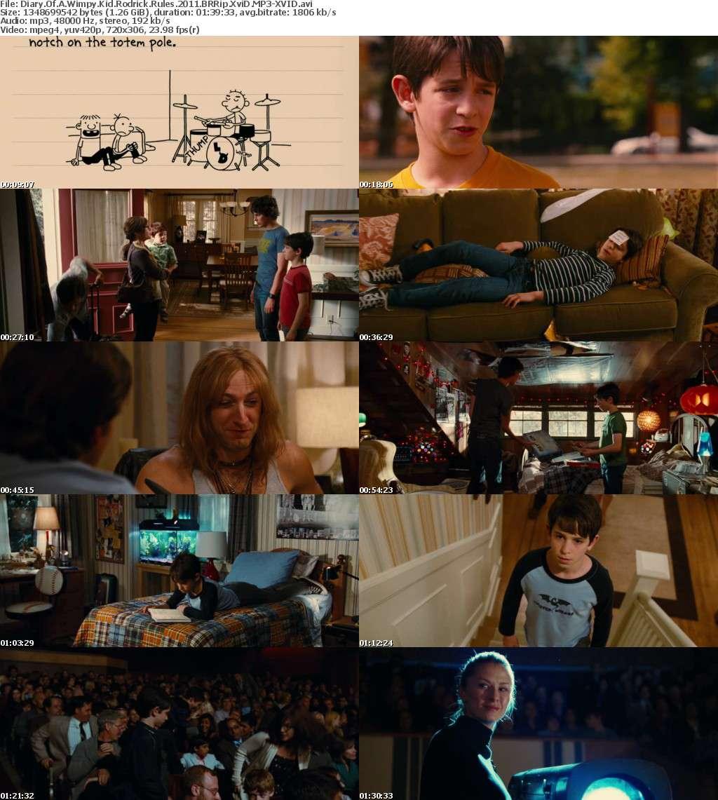 Diary Of A Wimpy Kid Rodrick Rules 2011 BRRip XviD MP3-XVID