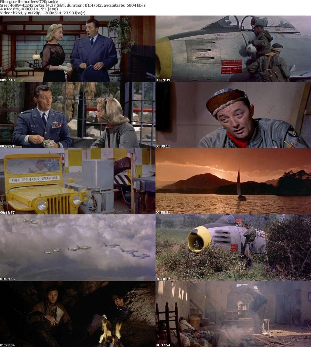 The Hunters 1958 720p BluRay x264-GUACAMOLE