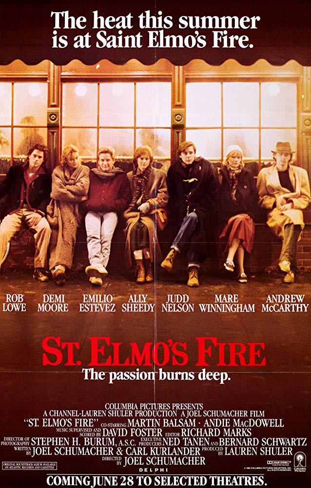 St Elmos Fire 1985 BRRip XviD MP3-XVID