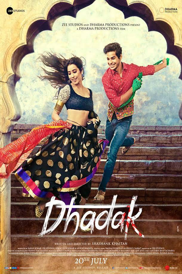 Dhadak (2018) Hindi 720p Pre-DvDRip x264 AAC - JM TeaM