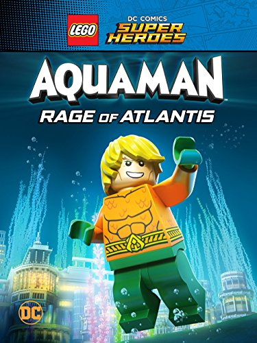 LEGO DC Comics Super Heroes Aquaman Rage of Atlantis 2018 BDRip XviD AC3-EVO