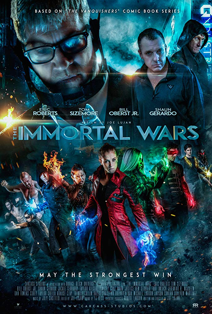 The Immortal Wars 2018 Movies 720p HDRip x264 AAC with Sample