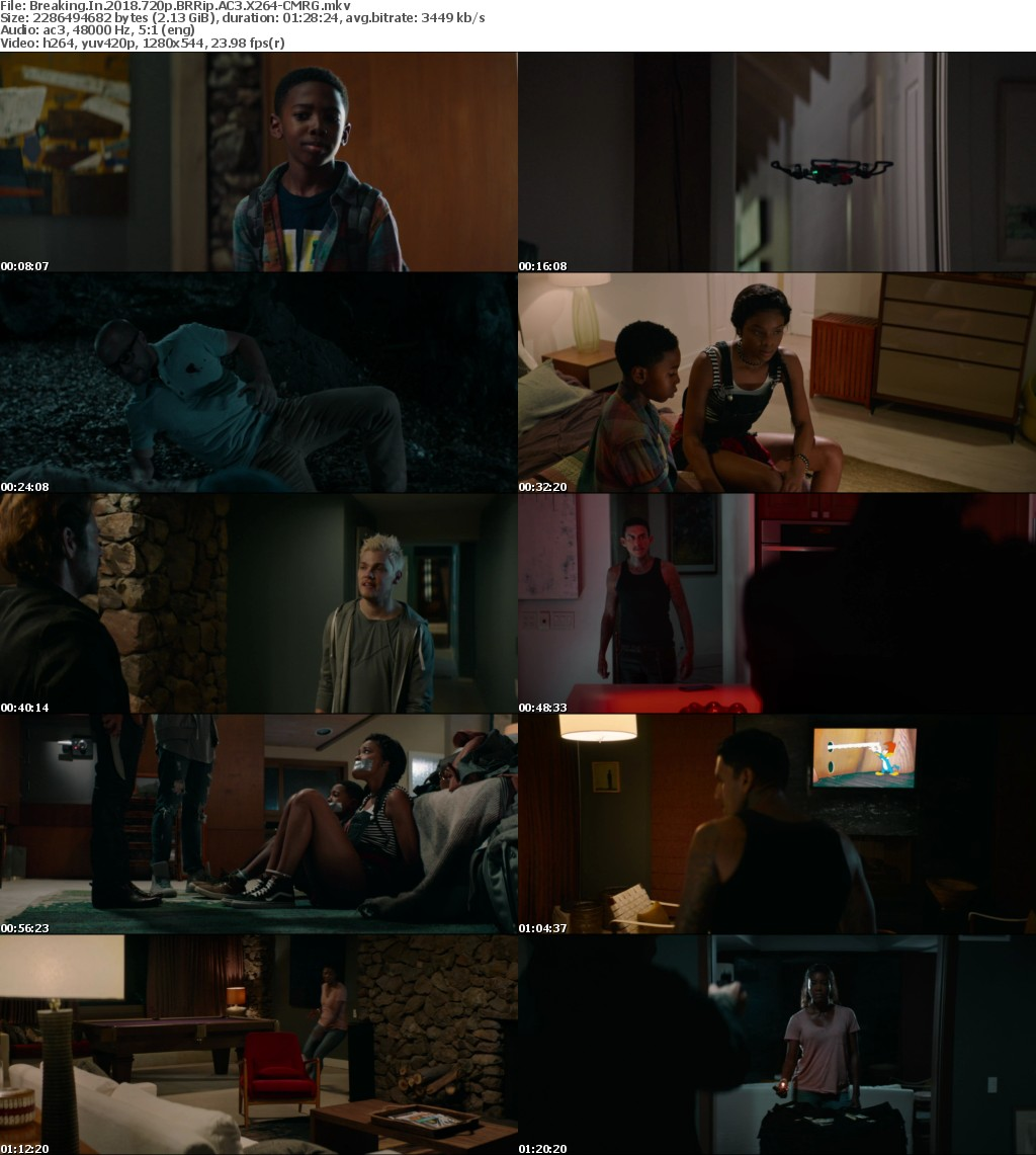 Breaking In (2018) 720p BRRip AC3 X264-CMRG