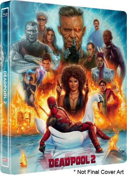 Deadpool 2 (2018) UNRATED AMZN WEBRip XviD-AVID