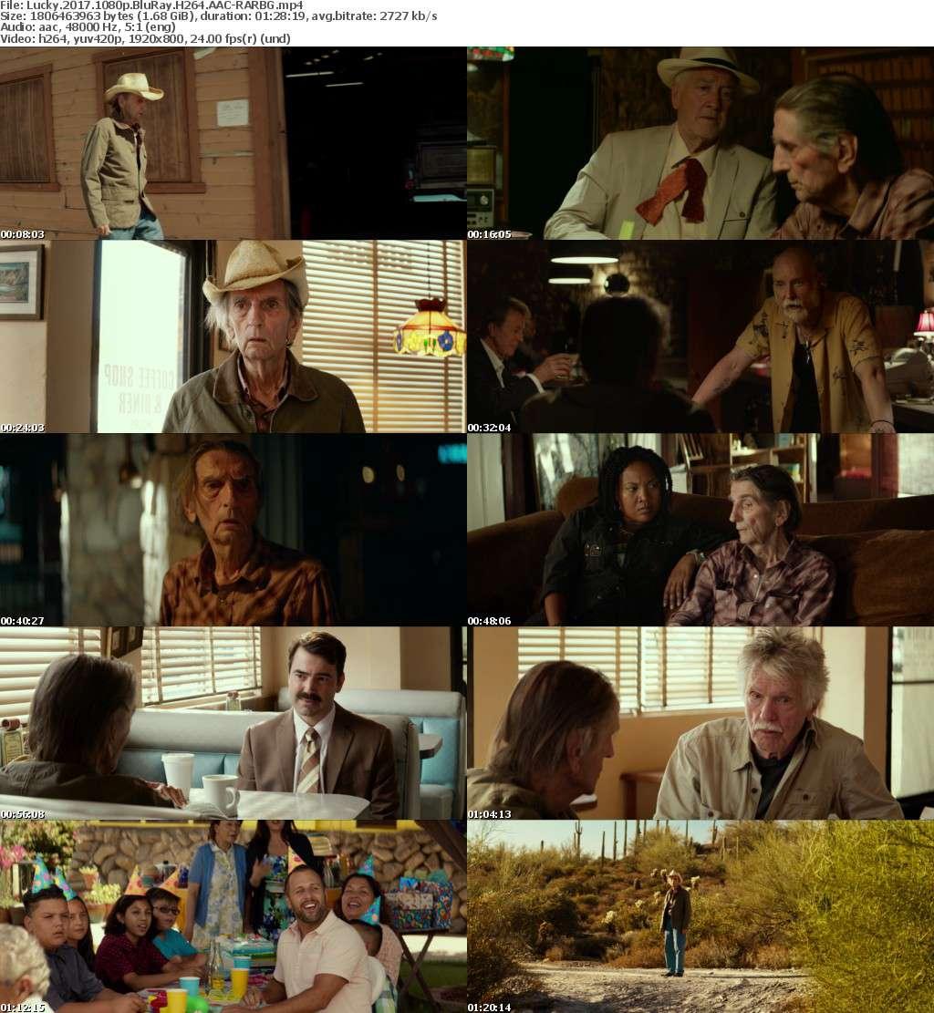 Lucky 2017 1080p BluRay H264 AAC-RARBG