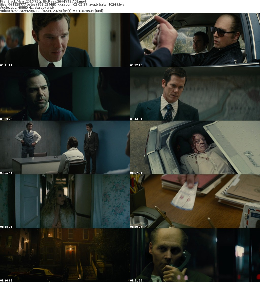 Black Mass (2015) [BluRay] [720p] YIFY