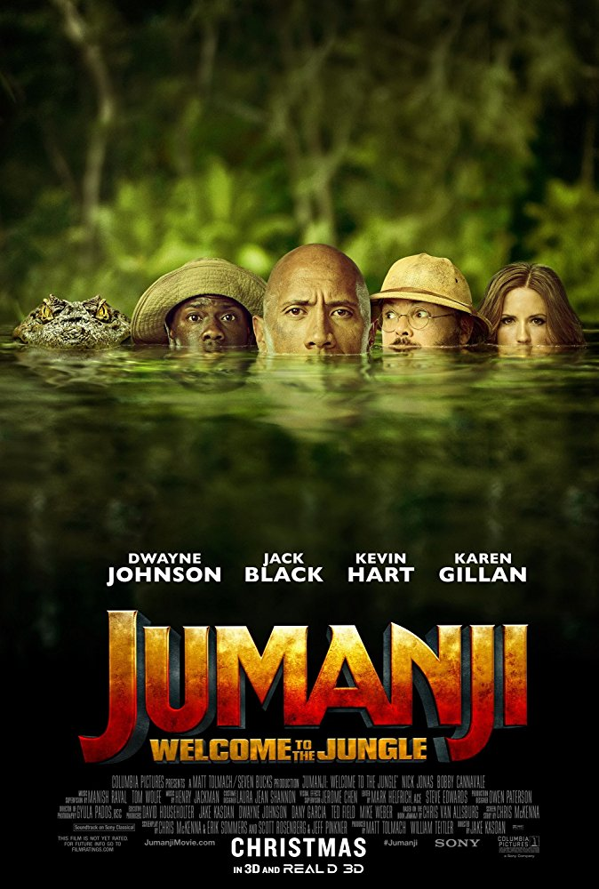 Jumanji Welcome to the Jungle (2017) [BluRay] [720p] YIFY