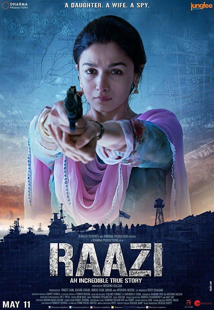 Raazi (2018) 720p BRRip Hindi x264 AC3 Encoded By-RishiBhaiRDs