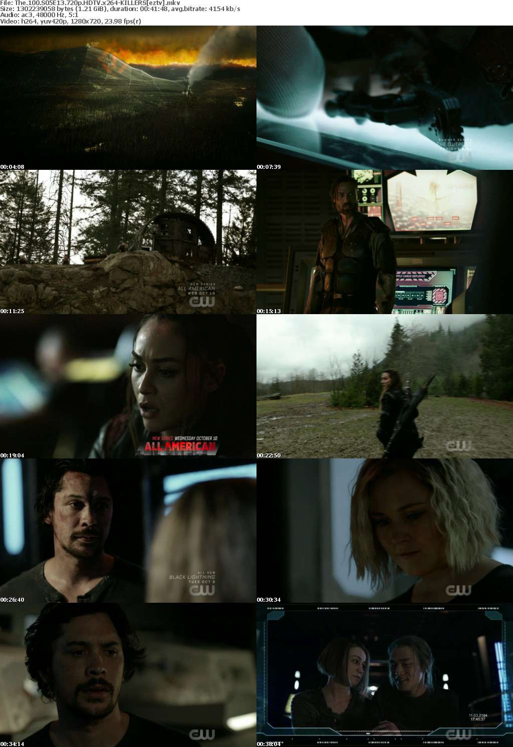 The 100 S05E13 720p HDTV x264-KILLERS