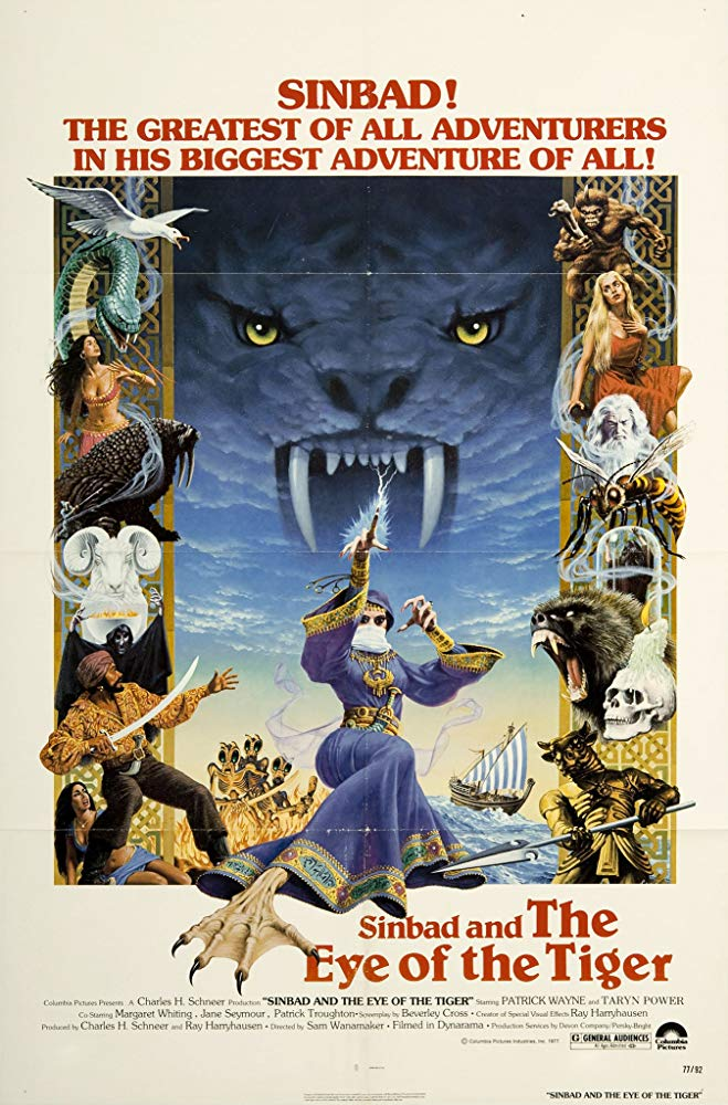 Sinbad The Eye Of The Tiger 1977 720p BluRay x264-x0r