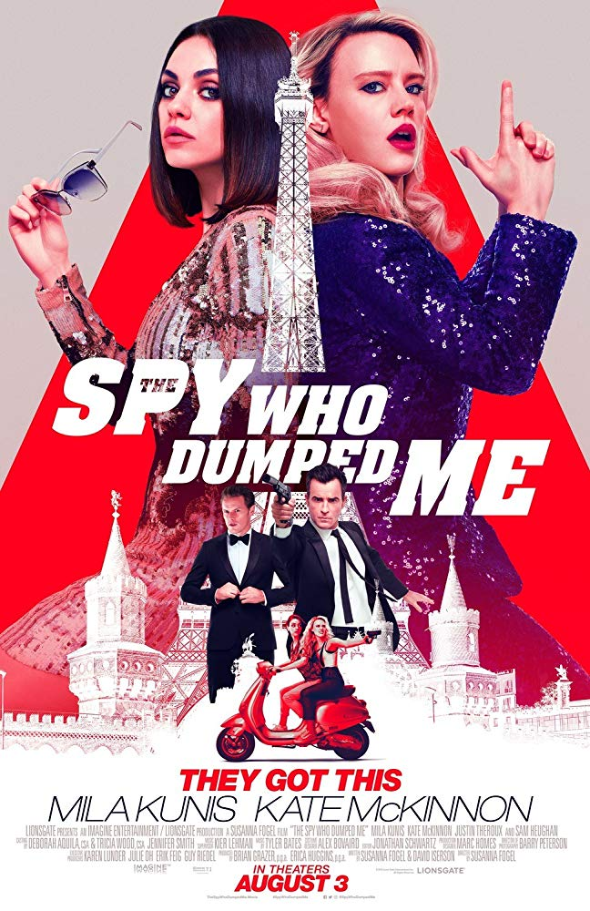The Spy Who Dumped Me 2018 720p HDCAM X264 MFH