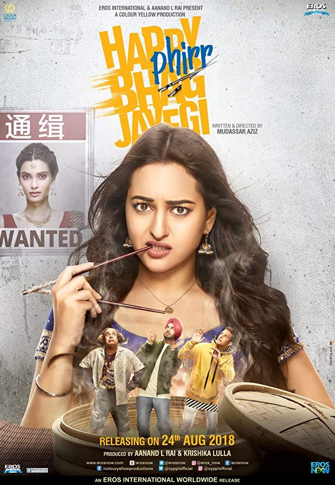 Happy Phirr Bhag Jayegi (2018) PreDvDRip 720p Hindi H264 AAC - LatestHDMovies Exclusive mp4