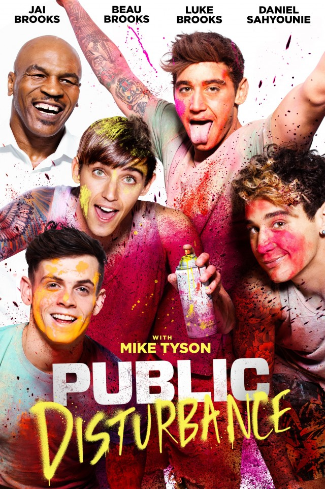 Public Disturbance 2018 HDRip XviD AC3-EVO