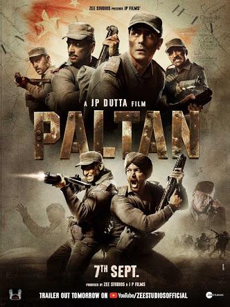 Paltan 2018 PreDvdRip Hindi 720p X264 AAC - mkvCinemas