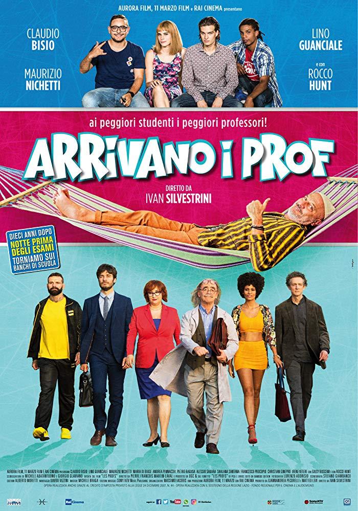 Arrivano i Prof (2018) 720p H264 italian Ac3-5 1 sub ita eng-MIRCrew