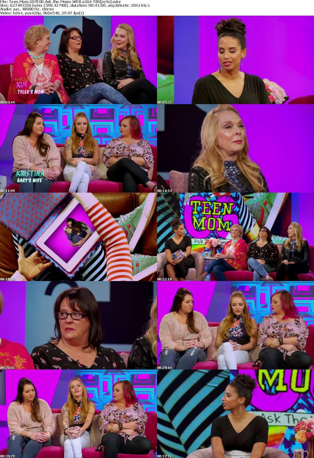 Teen Mom S07E00 Ask the Moms WEB x264-TBS