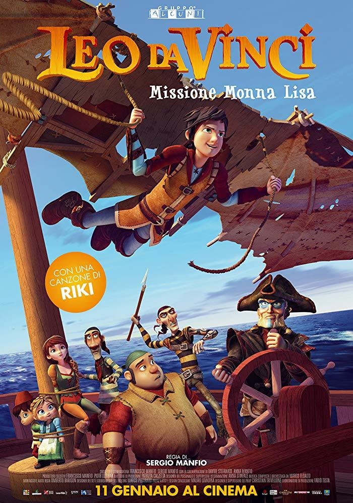 Leo Da Vinci Missione Monna Lisa (2018) 1080p H264 italian Ac3-5 1 sub ita- ...