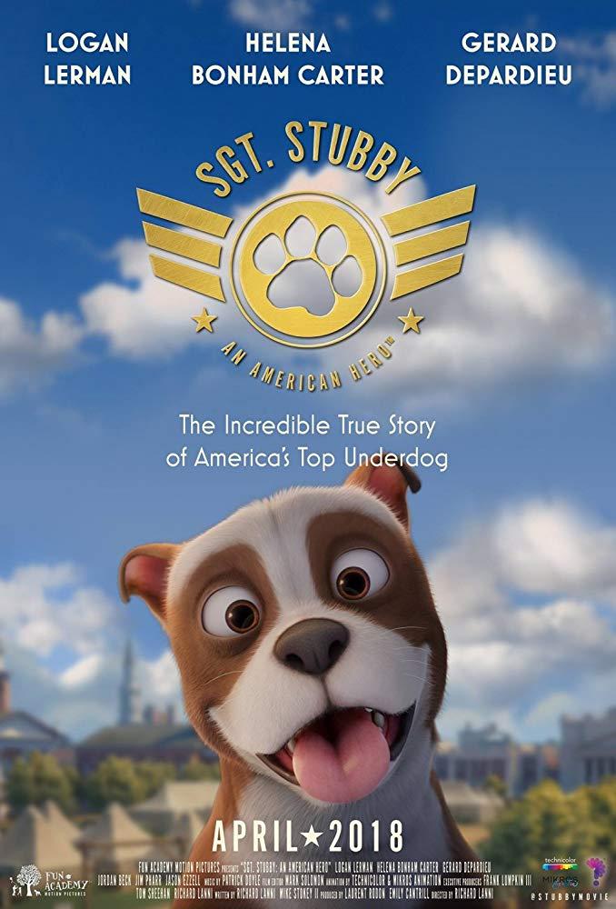 Sgt Stubby An American Hero 2018 720p WEB-DL DD5 1 H264-CMRG