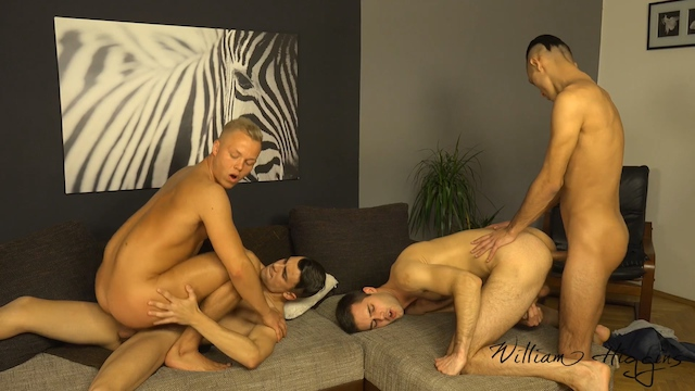 Wank Party #79 Part 2 RAW (William Higgins)
