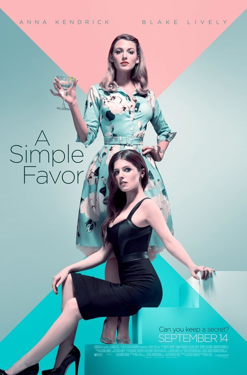 A Simple Favor 2018 NEW 720p TS-1XBET