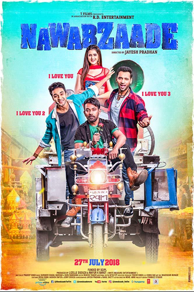 Nawabzaade 2018 Hindi 720p WEB-DL x264 ESub MW