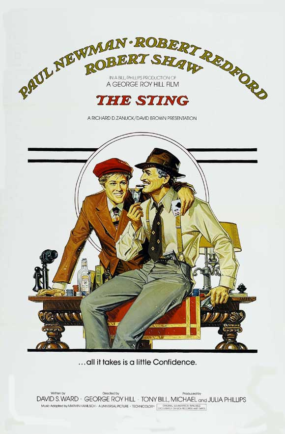The Sting 1973 BRRip XviD MP3-XVID