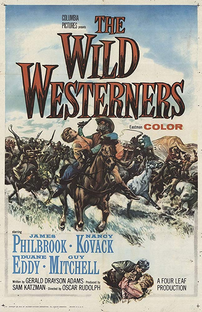 The Wild Westerners (Western 1962) James Philbrook 720p TVrip