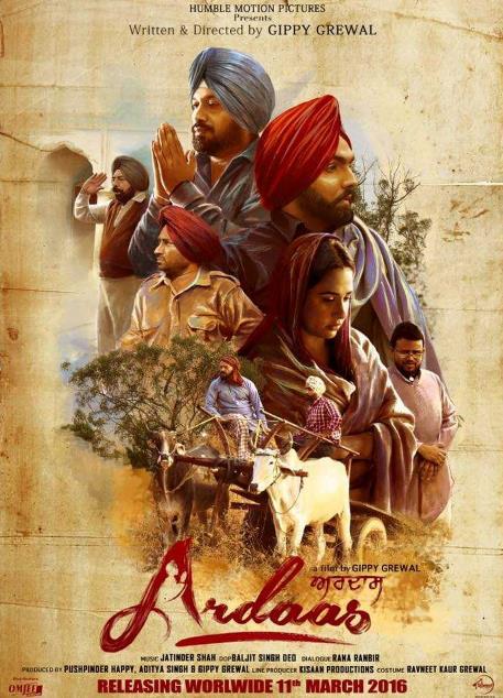 Ardaas (2016) Punjabi 720p DVDRiP 1 2GB-Zaeem