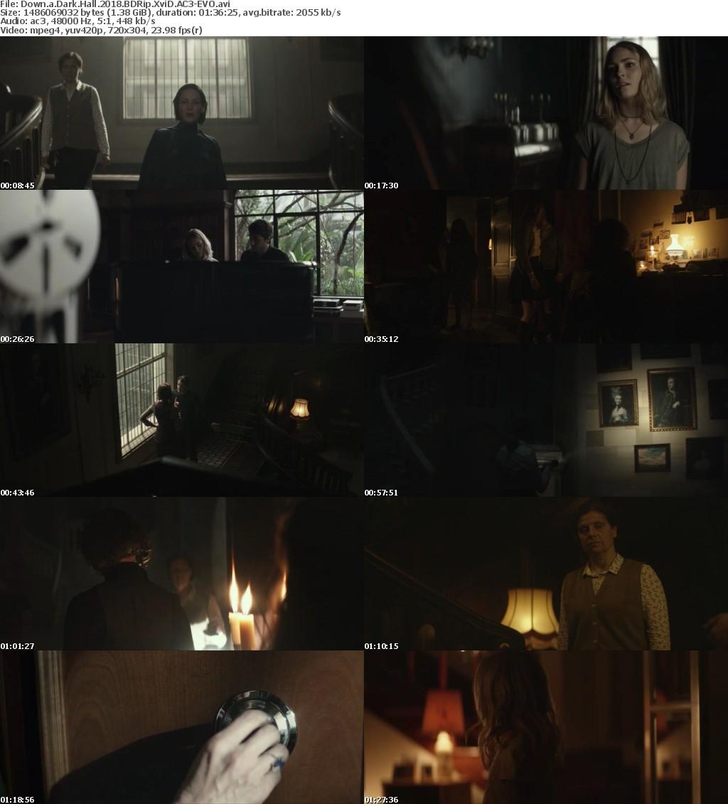 Down a Dark Hall 2018 BDRip XviD AC3-EVO