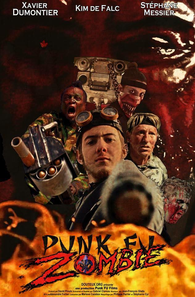 Punk Fu Zombie (2017) WEBRip - SHADOW