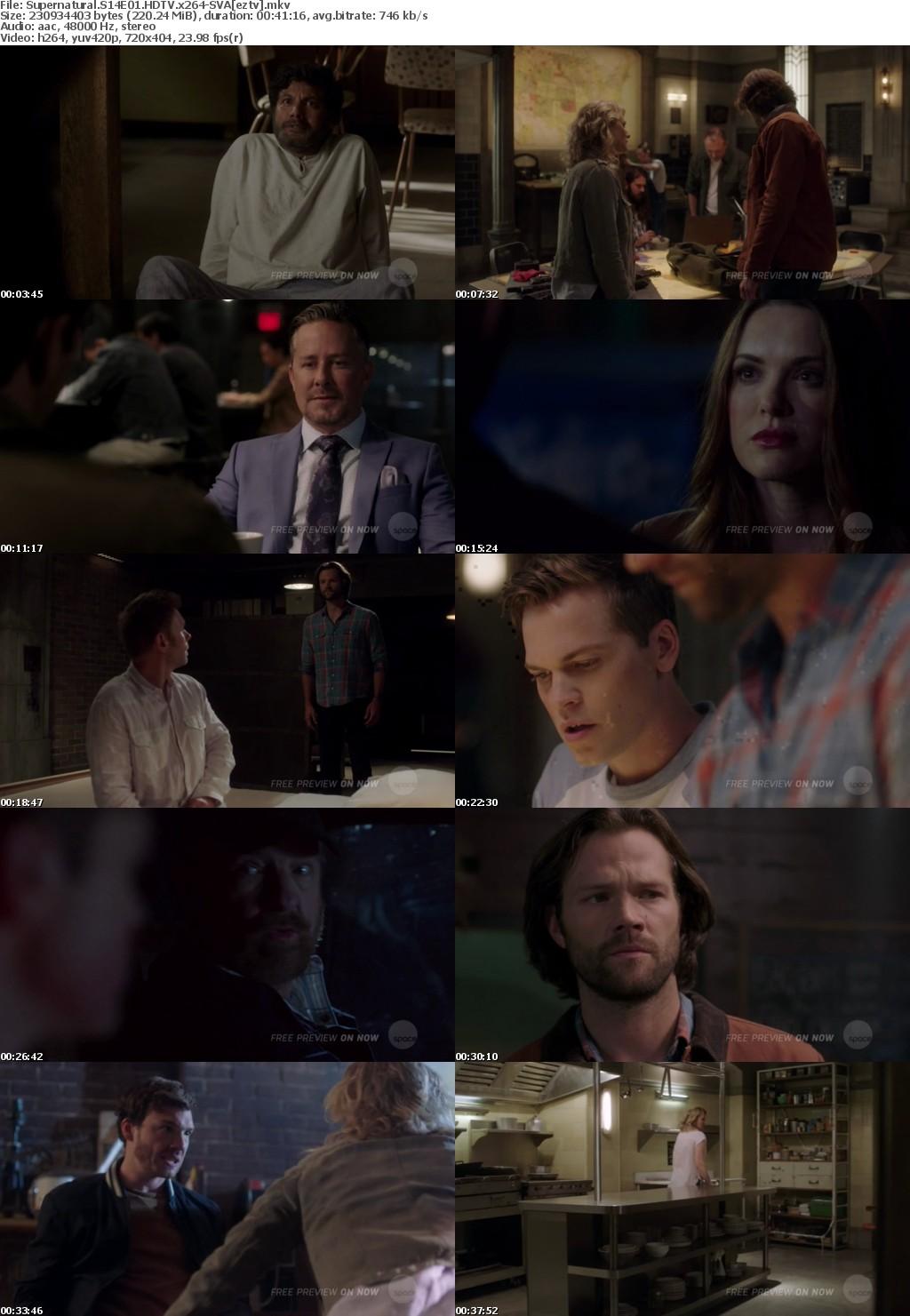 Supernatural S14E01 HDTV x264-SVA