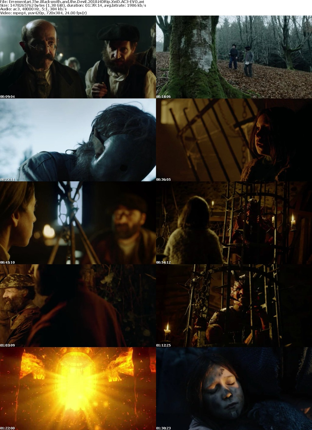 Errementari The Blacksmith and the Devil 2018 HDRip XviD AC3-EVO