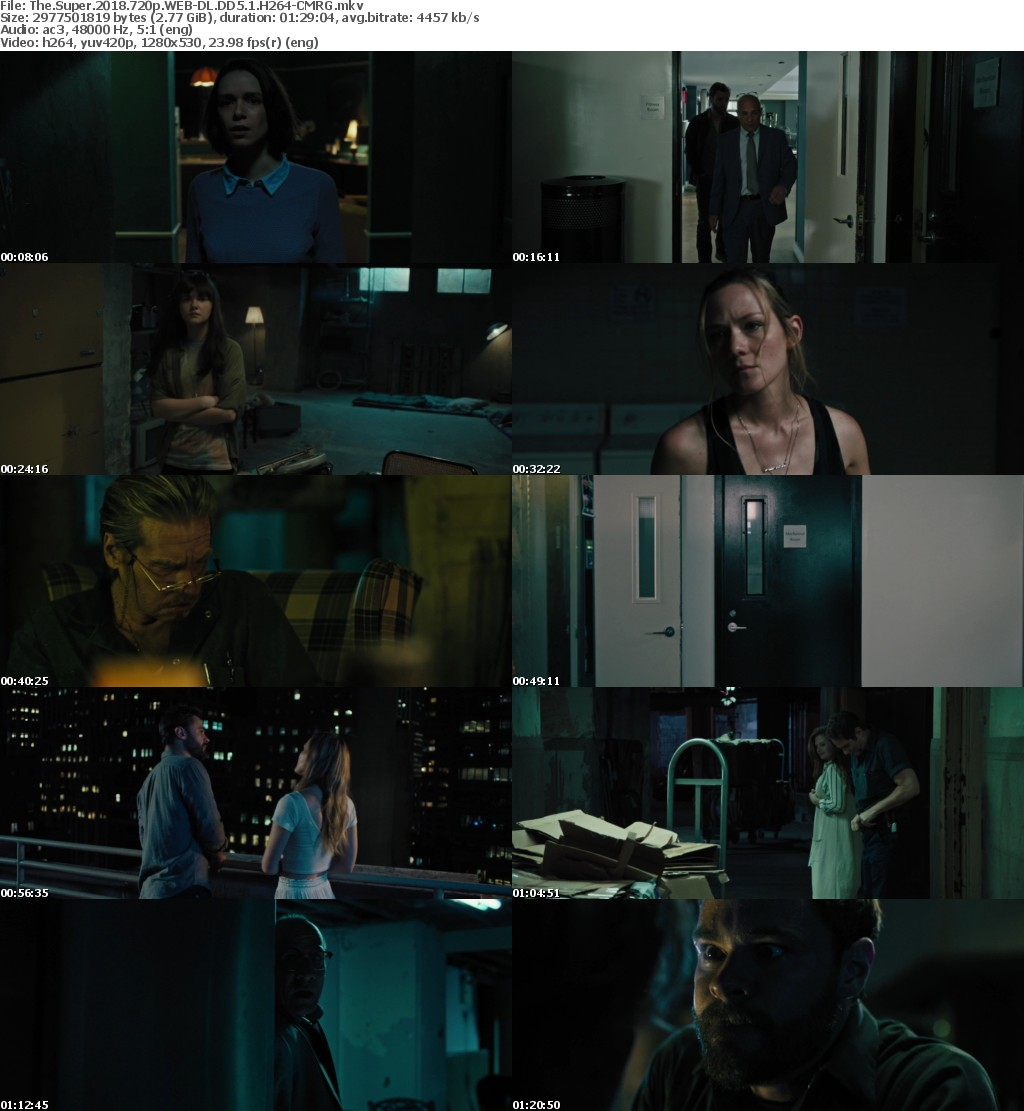 The Super (2018) 720p WEB-DL DD5.1 H264-CMRG