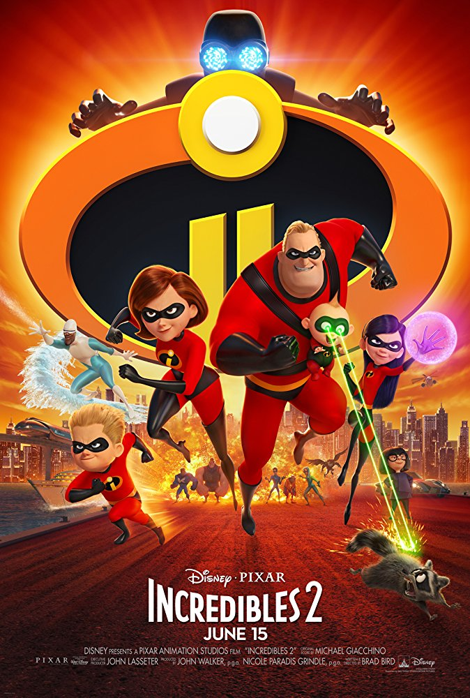 Incredibles 2 2018 720p WEB-DL x264 Dual Audio Hindi - English ESub MW