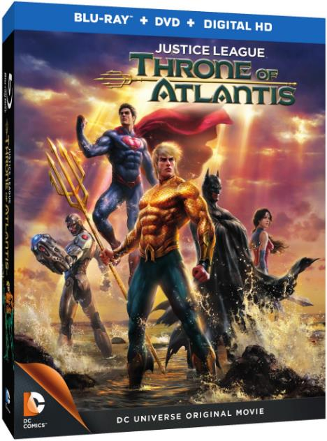 Justice League Throne of Atlantis (2015) BRRip 720p x265 2Ch HAAC2-Sunil-KITE-METeam