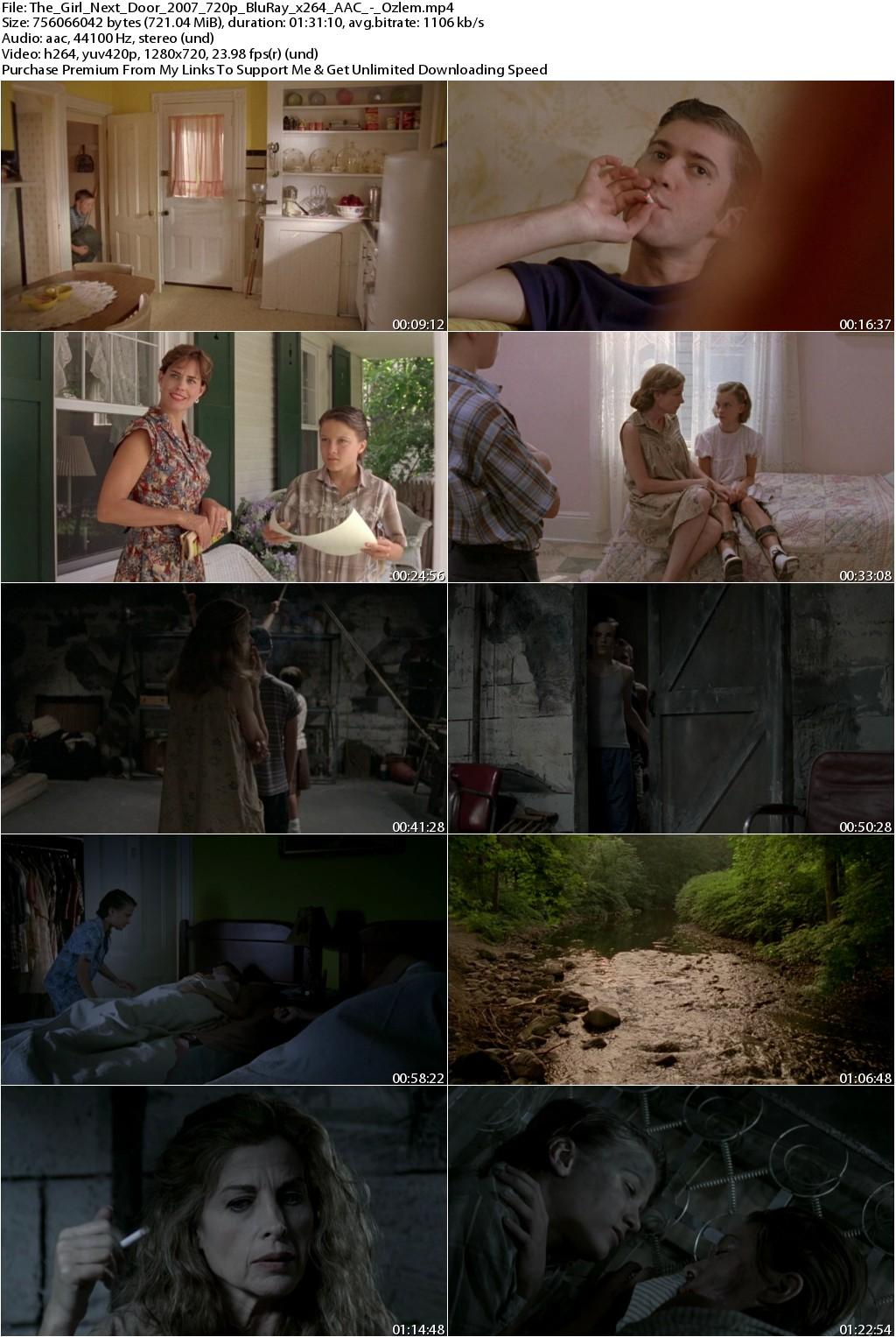 The Girl Next Door (2007) 720p BluRay x264 AAC-Ozlem