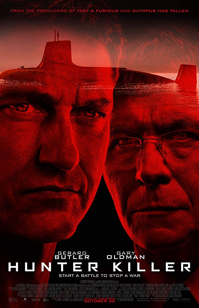 Hunter Killer 2018 HC 1080p HDRip X264-EVO