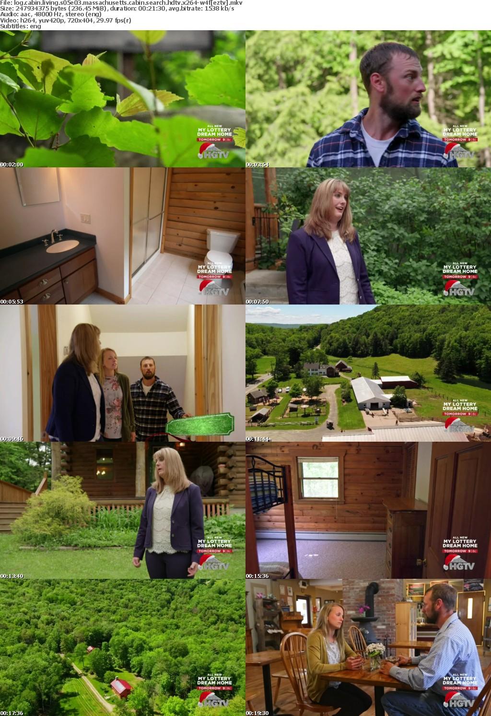 Log Cabin Living S05E03 Massachusetts Cabin Search HDTV x264-W4F